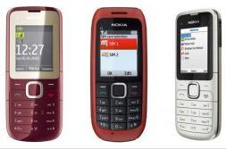 Nokia C1 C2 Dual SIm