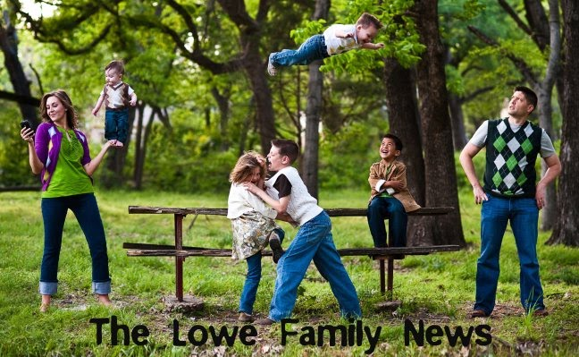 The Lowe Family News