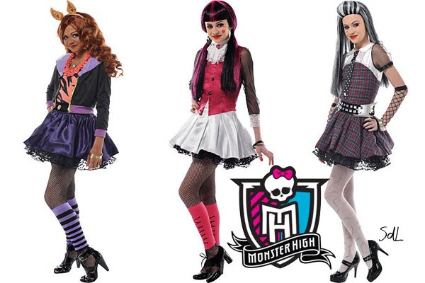 disfrases de monster high