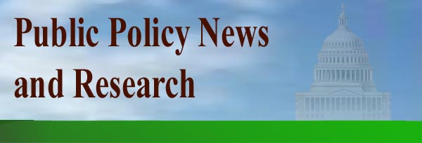 Public Policy News and Research .. current events, social research,  independent media