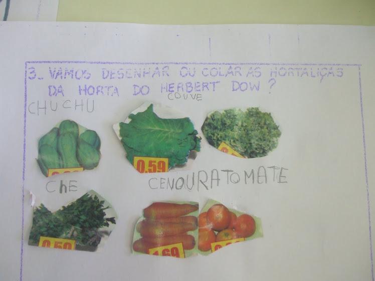 Atividade com encarte de supermercado - alimentos saudáveis - 20-10-10
