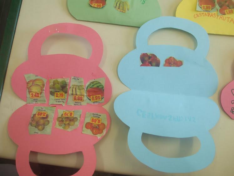 Atividade da cesta de frutas - alimentos saudáveis - 20-10-2010