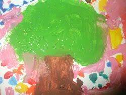 """Obra de Arte """"Árvore da Vida"""""""