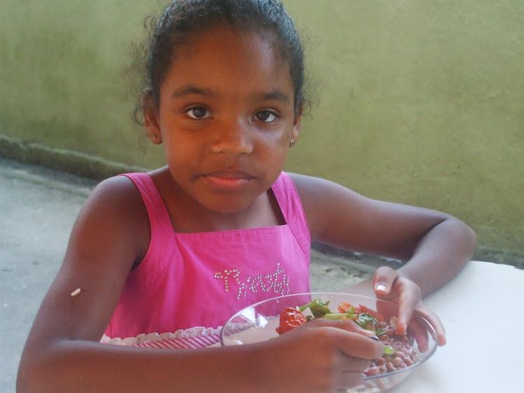 Degustação da salada - 19-11-2010