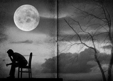 AMOR SIN RAZÓN Luna-con-hombre-triste