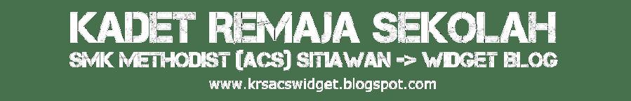 KRS-ACS Sitiawan Widget