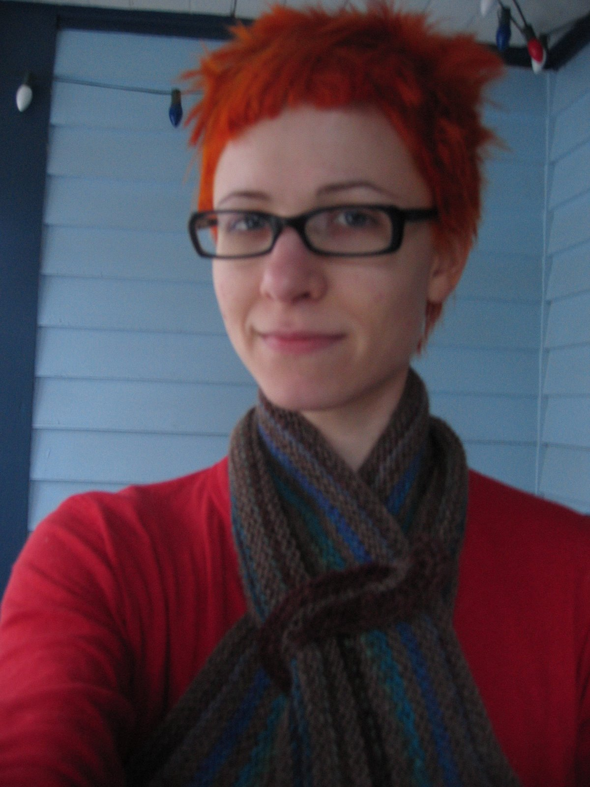 [New+Hair!++New+Scarf!]