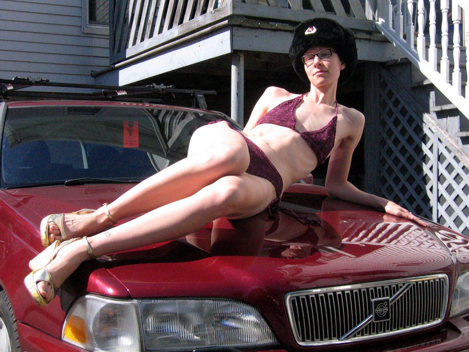 [New+Car+and+New+Handknit+Bikini]