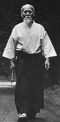 Il Fondatore dell'Aikido Sensei Morihei Ueshiba