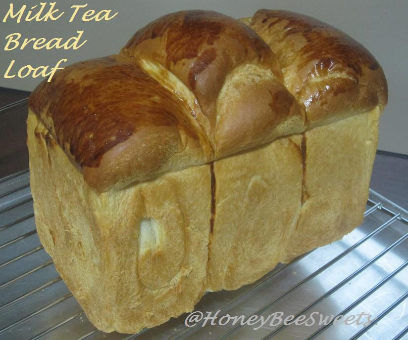 Honey Bee Sweets: Milk Tea Bread Loaf