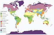 El Mapa del mundo Físico representa los rasgos de elevación y depresión en . world physical map
