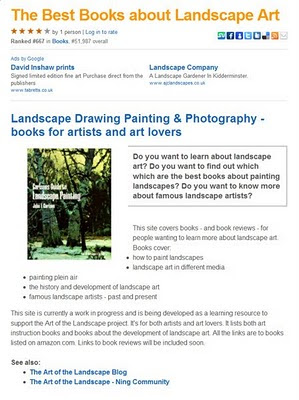 the art of the landscape which are the best books about landscape art