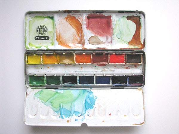 What are the strengths of watercolor as a medium?