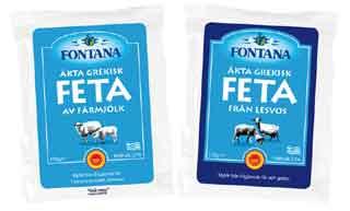 Feta av fårmjölk & Feta Lesvos