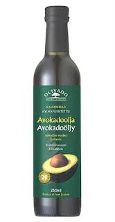 Bloggen har fått en flaska Avokadolja