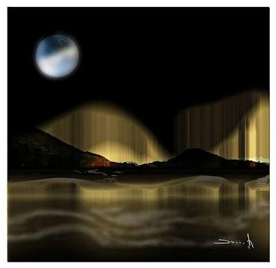 Moon Bath, Dominique Landau