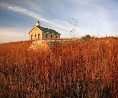 Prairie Schoolhouse by Michael Hodges