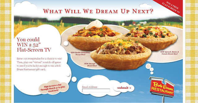 Bobevans.com/Dreammachine - Bob Evans Dream Machine Promotion