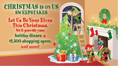 Disney Christmas Is On Us Sweepstakes