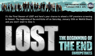 LostFinalSeasonSweepstakes.com - LOST The Beginning of the End Sweepstakes