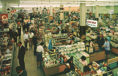 Houston Furniture Store on Here S A Busy Scene At The Downtown Houston Texas Woolworth Store From