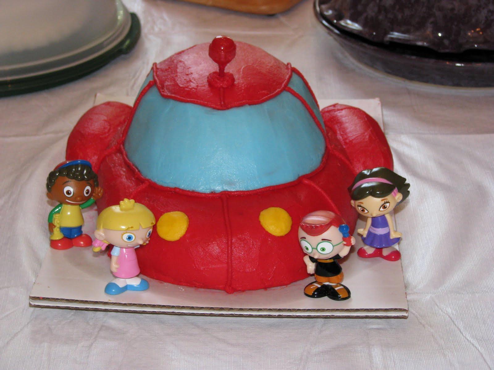 Renee O Little Einsteins Rocket Cake