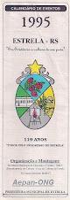 Estrela-RS - Calendário de Eventos 1995