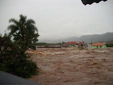 Enchente Rio Forqueta, afluente do Rio Taquari - Marques de Souza-rs - Janeiro 2010