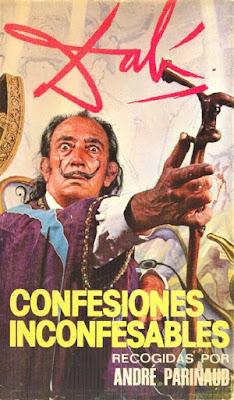 Salvador Dalí - Confesiones Inconfesables (París 1973) recogidas por André Parinaud Dibujo