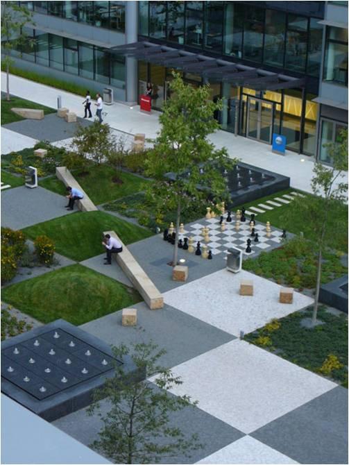 Paisajismo pueblos y jardines parque de cigler marani praga rep blica checa - Small urban spaces image ...