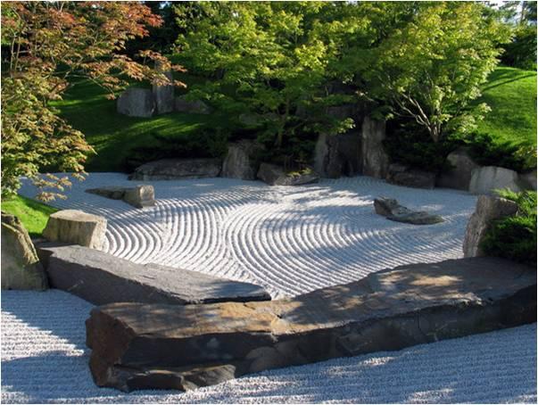 Paisajismo pueblos y jardines un jardin japones de for Jardin estilo japones
