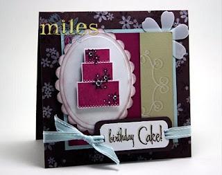 Cake Art Seventeen Mile Rocks : Card Metaphors: January 2008