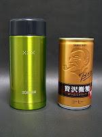 SM-EA20-GKと缶コーヒー