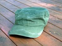 潮吹き柄の帽子