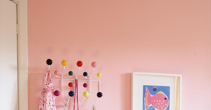 The Boo And The Boy Pink Walls In Kids Rooms