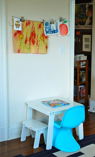 the boo and the boy The panton chair used in kids rooms