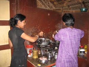 ...beim Kochen