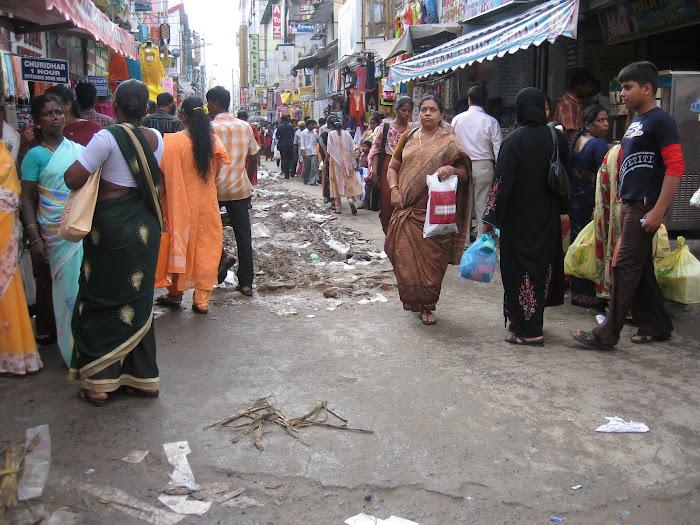 Seitenstrasse in Teenagar