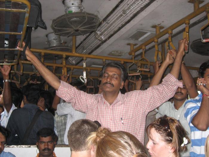 So schlafen die Inder :-)