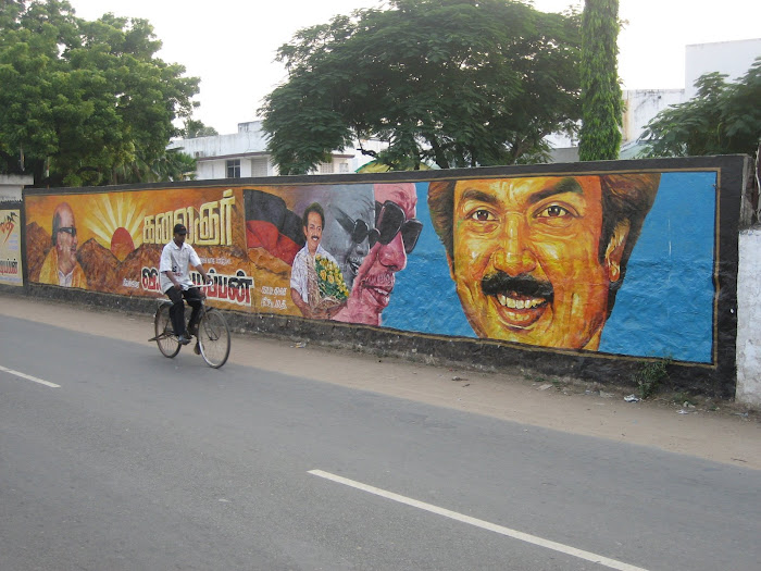 On the streets of Chennai