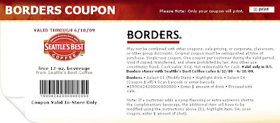 Borders Coupon