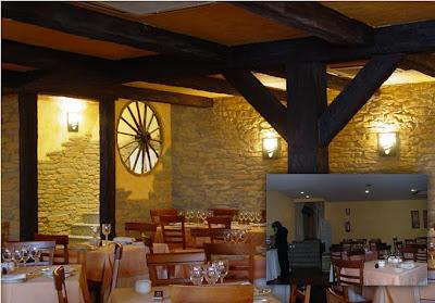 restaurante con decoracion rustica