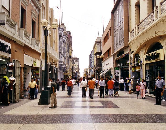 Paseo con tiendas Tiendas