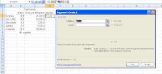 Excel mnożenie