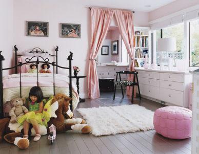 Pink Silk Bed Set