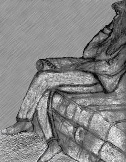 Sketch of wife by Tony Sarrecchia