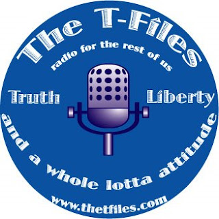 Logo design by Tony Sarrecchia for the T-Files Radio show.