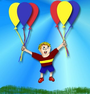 Balloon Illustration by Tony Sarrecchia