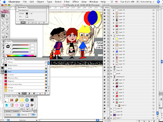 Adobe Illustrator Screen Grab of Parade