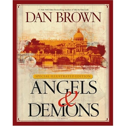 when I went out: Angels and Demons - Dan Brown - Book Review